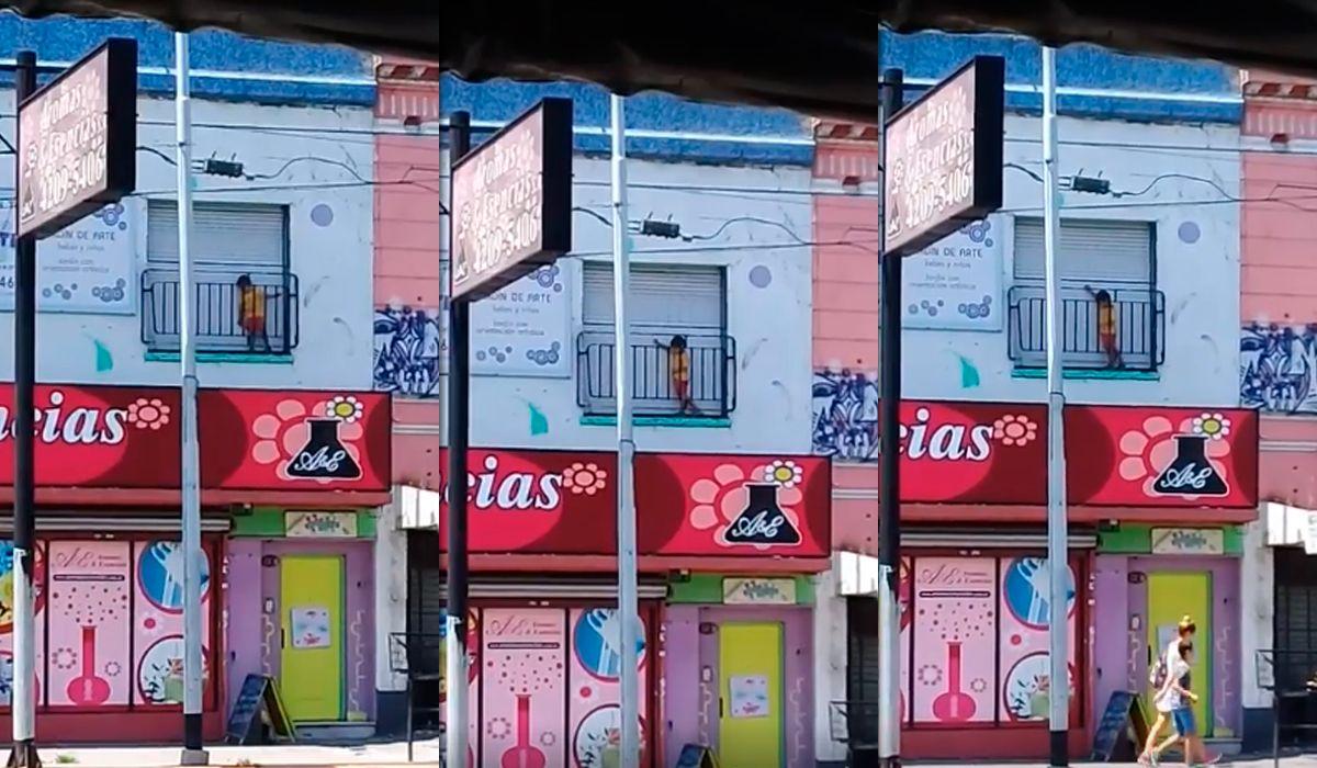 Gerli: denuncian a un jardín de infantes por dejar encerrado a nene en el balcón
