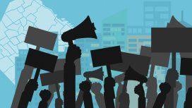 Caos de tránsito para este viernes en la Ciudad: los cortes de calles por las movilizaciones