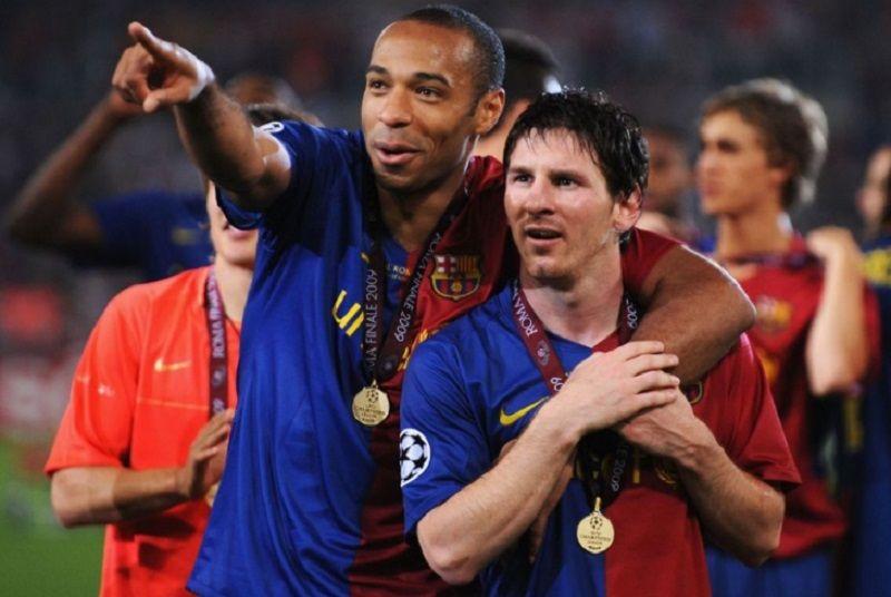 Thierry Henry y un terrible consejo a Neymar que incluye a Messi: Que cambie de deporte
