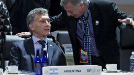 Energía y pesada herencia: el discurso de Macri para evitar hablar de la marcha de Moyano