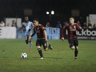 Ezequiel Barco marcó su primer gol en la MLS
