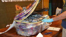 Las valijas con la droga, en la embajada rusa.