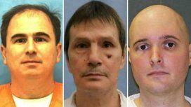 De izquierda a derecha: Branch, Hamm y Whitaker podrían ser ejecutados este jueves