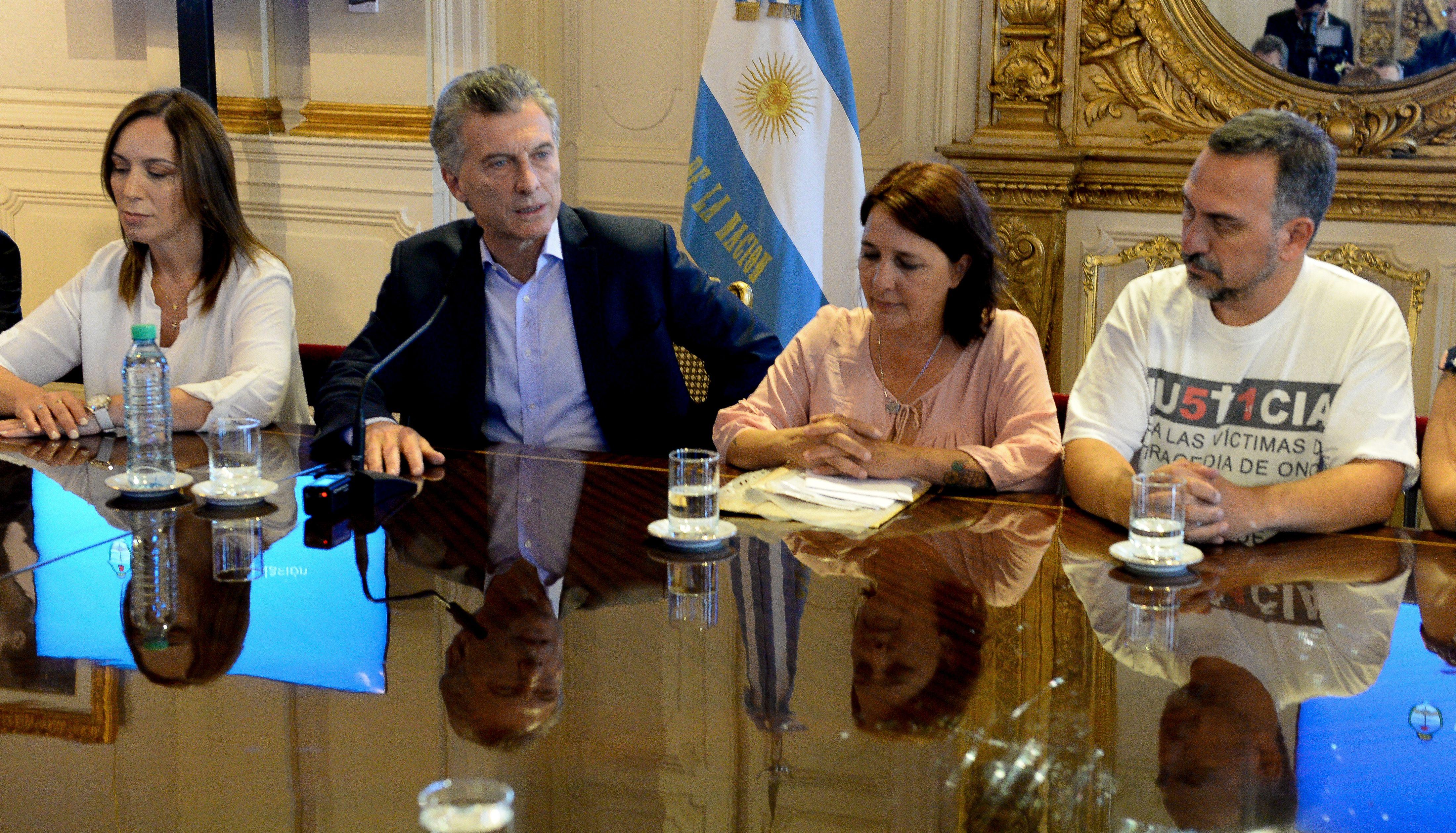 Macri recibió a los familiares de la tragedia de Once, quienes pidieron endurecer los castigos