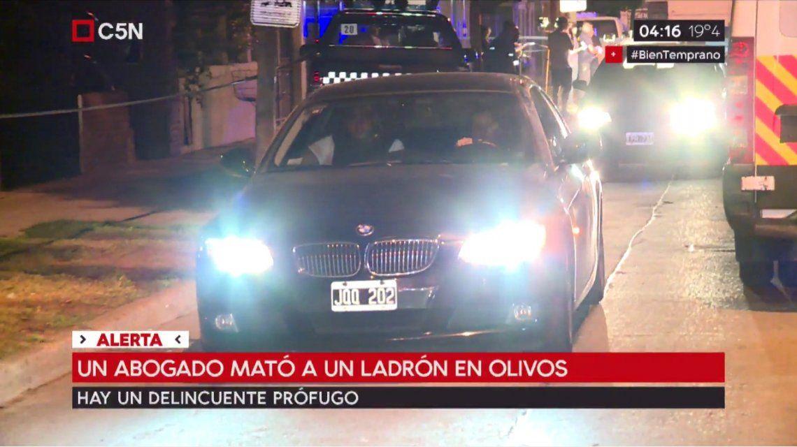 El vehículo que intentaron robarle al abogado