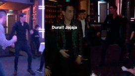 El bailarín Di María: así se mueve en la pista el jugador de la Selección