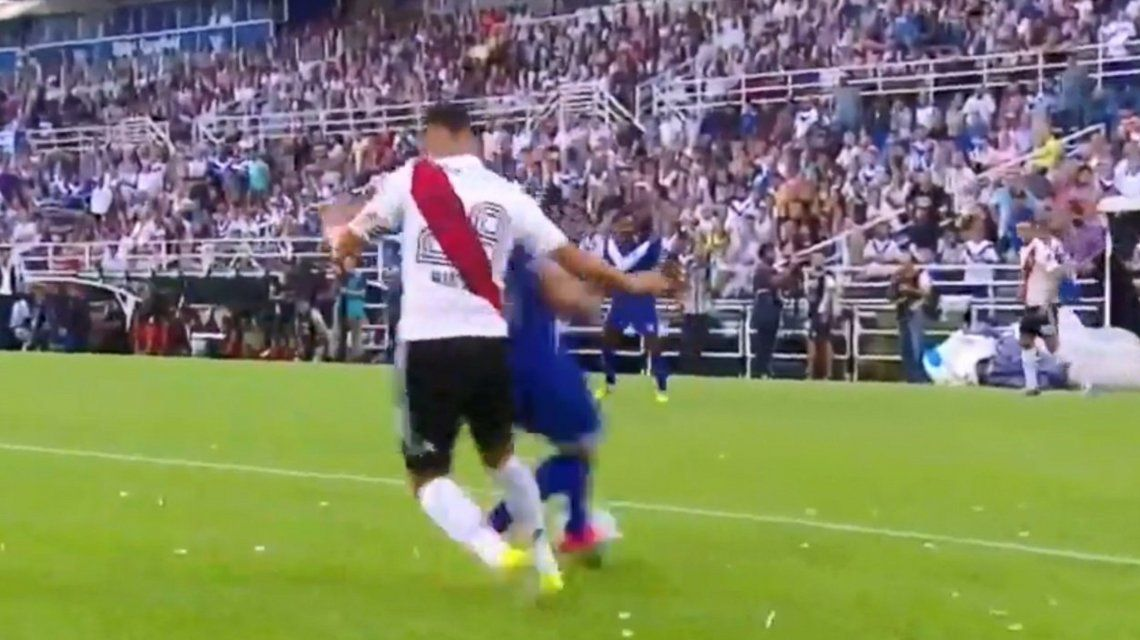 VIDEO: El ¿penal? que no le cobraron a Vélez frente a River