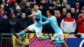 El golazo del Kun Agüero en la final de la Copa de la Liga