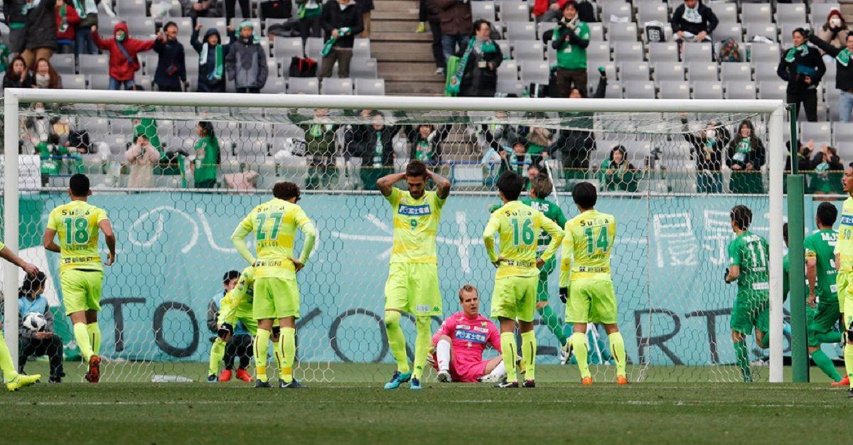 El Ruso Rodríguez debutó en la B de Japón: se comió dos goles en la derrota del JEF United