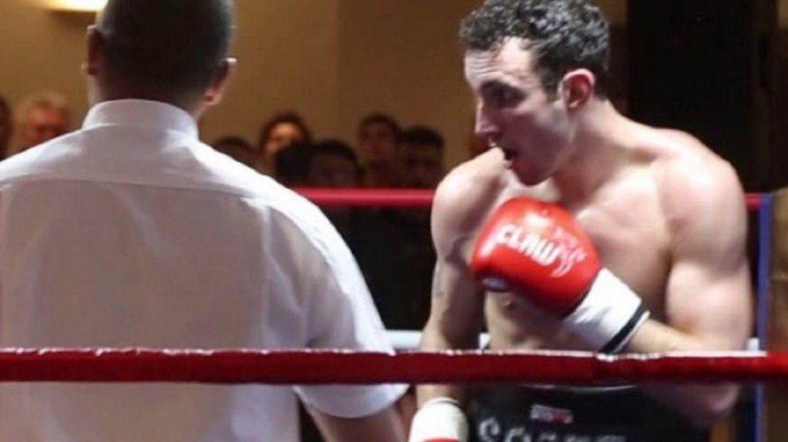 El boxeador tenía 31 años