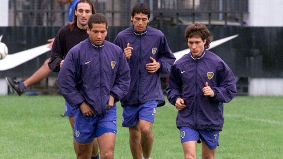 El delantero junto a Guillermo