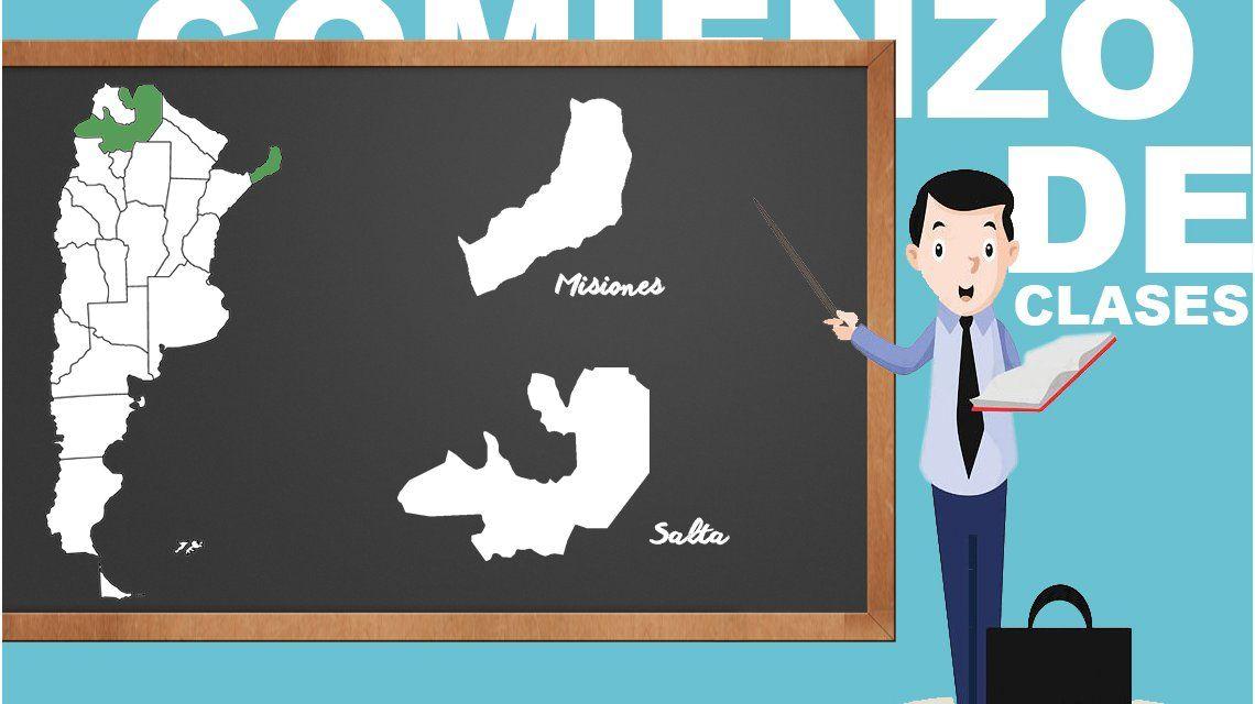 A días del inicio del ciclo lectivo, el mapa de las provincias con conflictos docentes