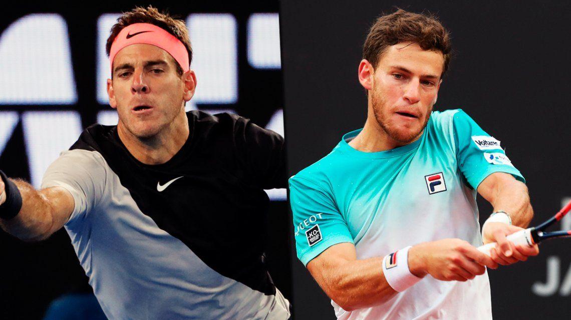 Martes argentino: Del Potro y Schwartzman debutan en el ATP de Acapulco