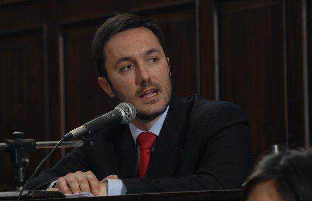 Luis Petri, diputado de UCR-Cambiemos<br>