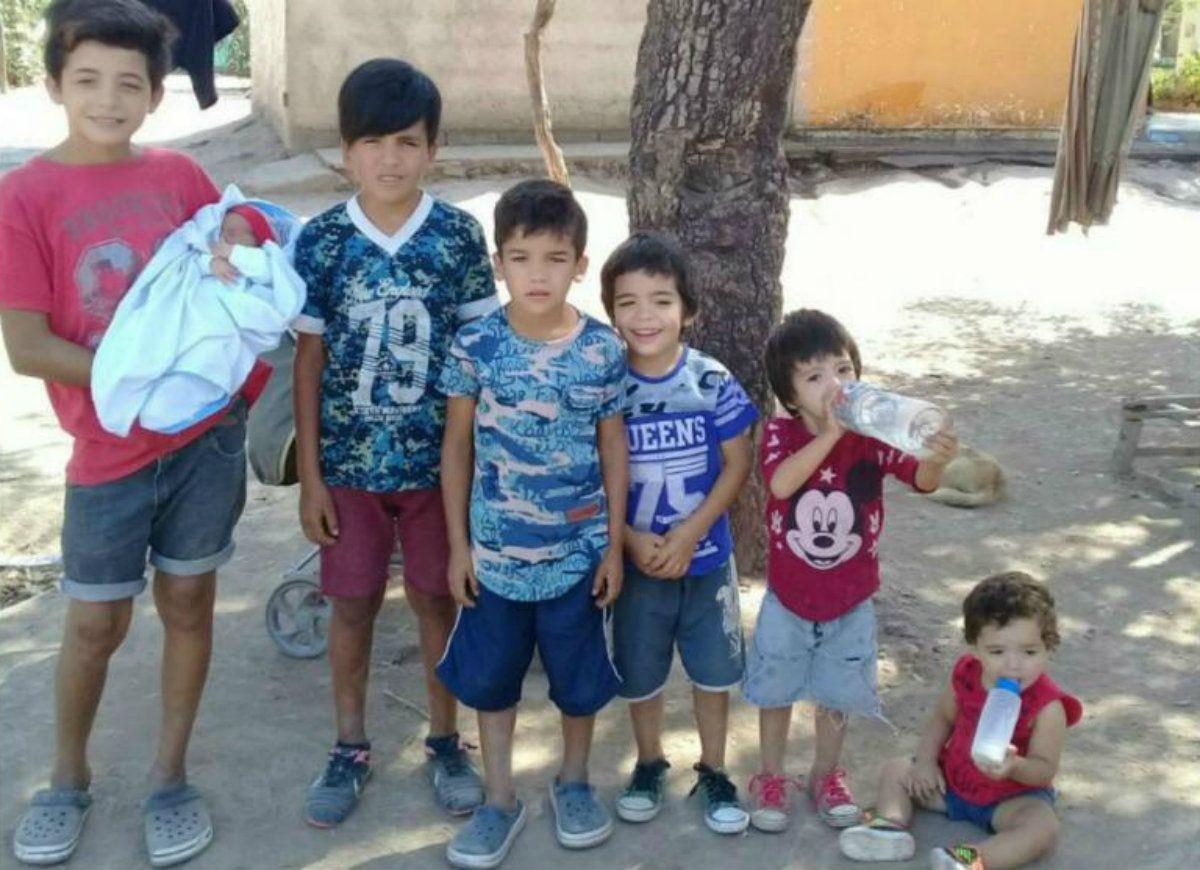 Oliver Jesús es el menor de siete varones