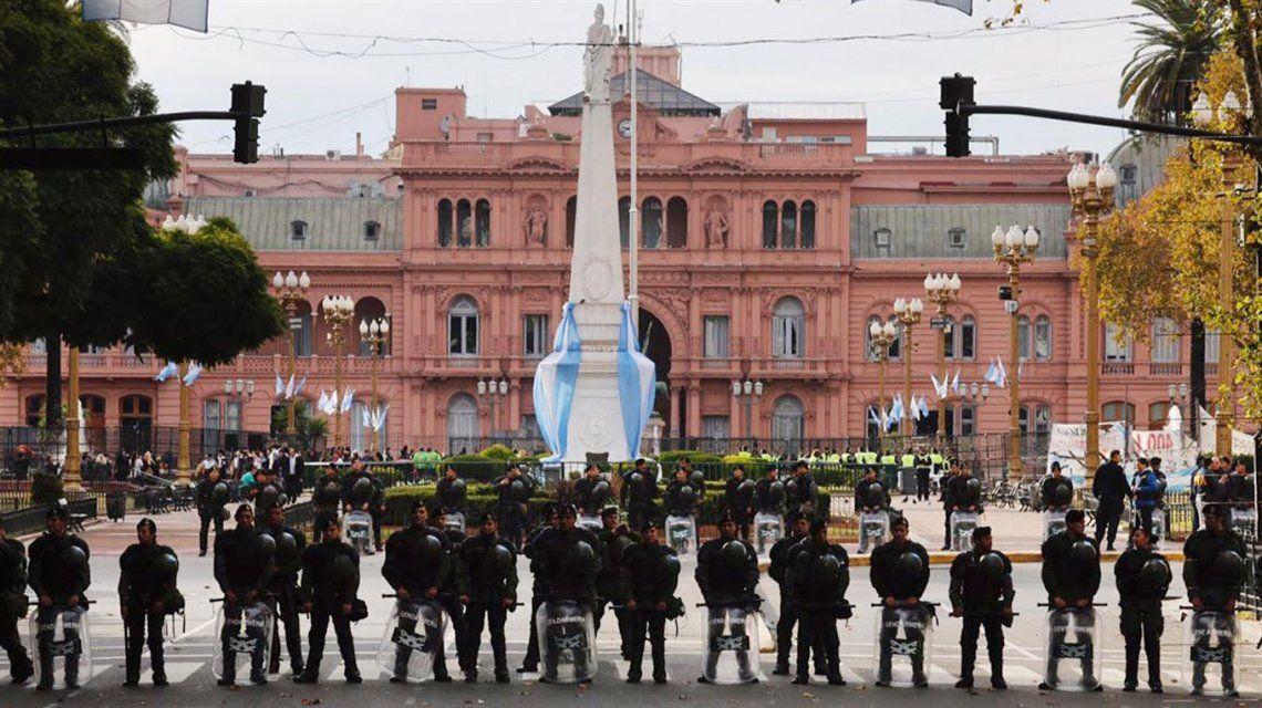 ¿Cómo será el operativo de seguridad por la visita de Macri al Congreso?