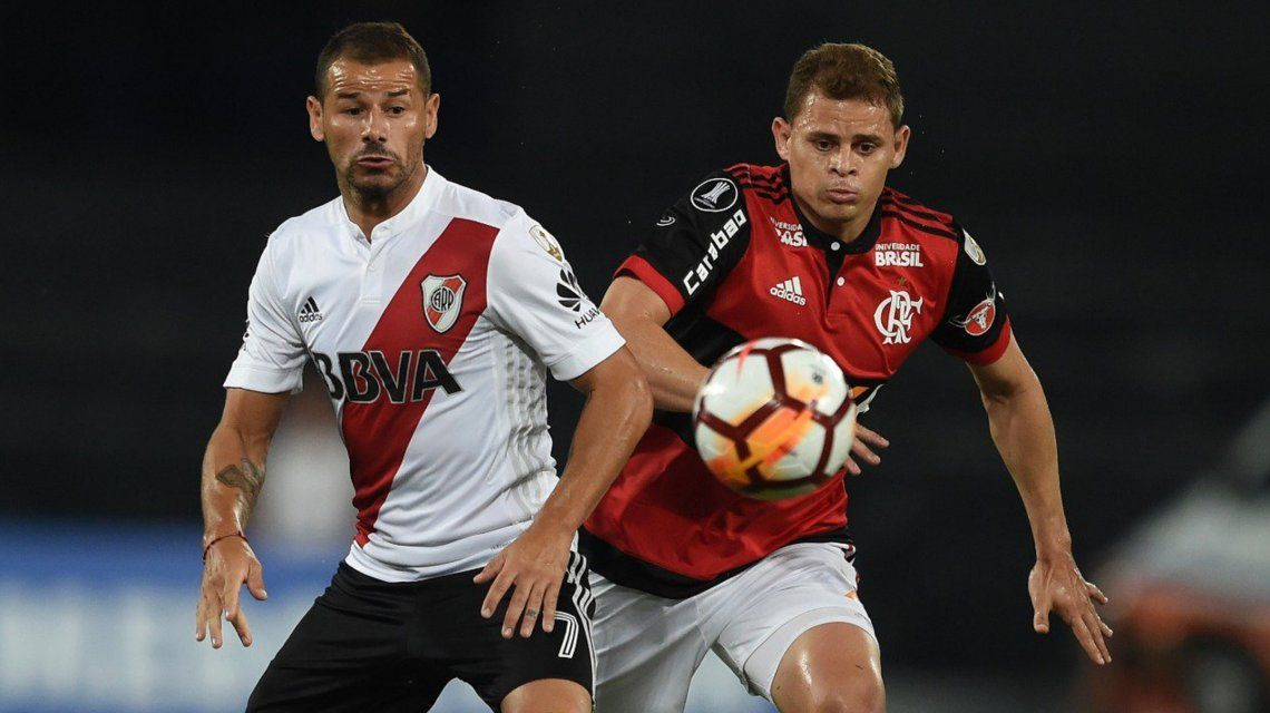 River visita a Flamengo (@CARPoficial)