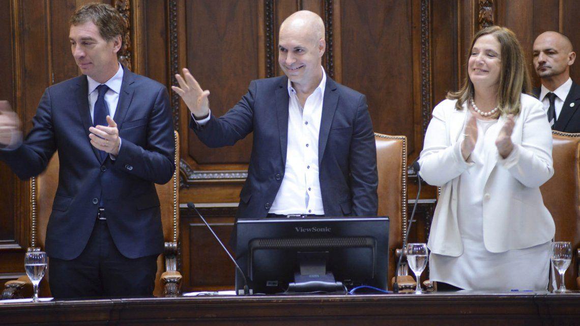 Horacio Rodríguez Larreta en la apertura de sesiones ordinarias de 2017