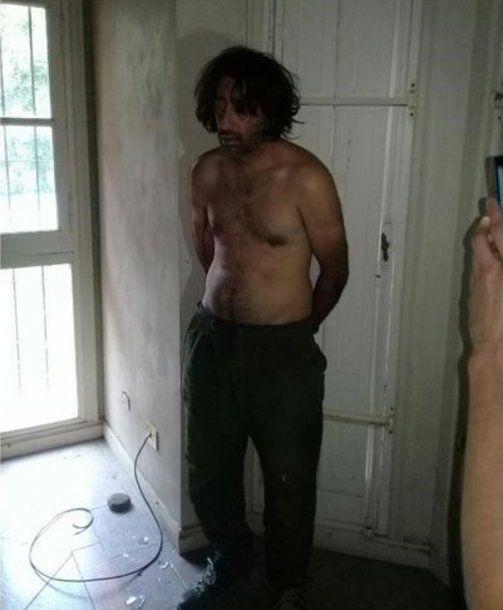 José Carlos Varela (40), detenido por el crimen de Camila Borda.