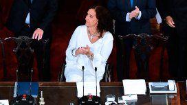 VIDEO: El exabrupto de Michetti antes de abrir las sesiones ordinarias en el Congreso