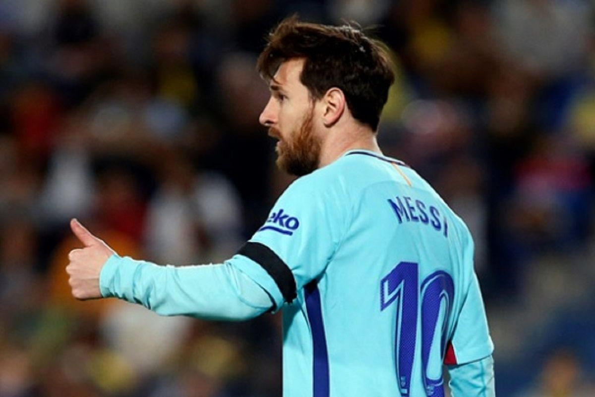 Lionel Messi - Crédito: Twitter@FCBarcelona_es