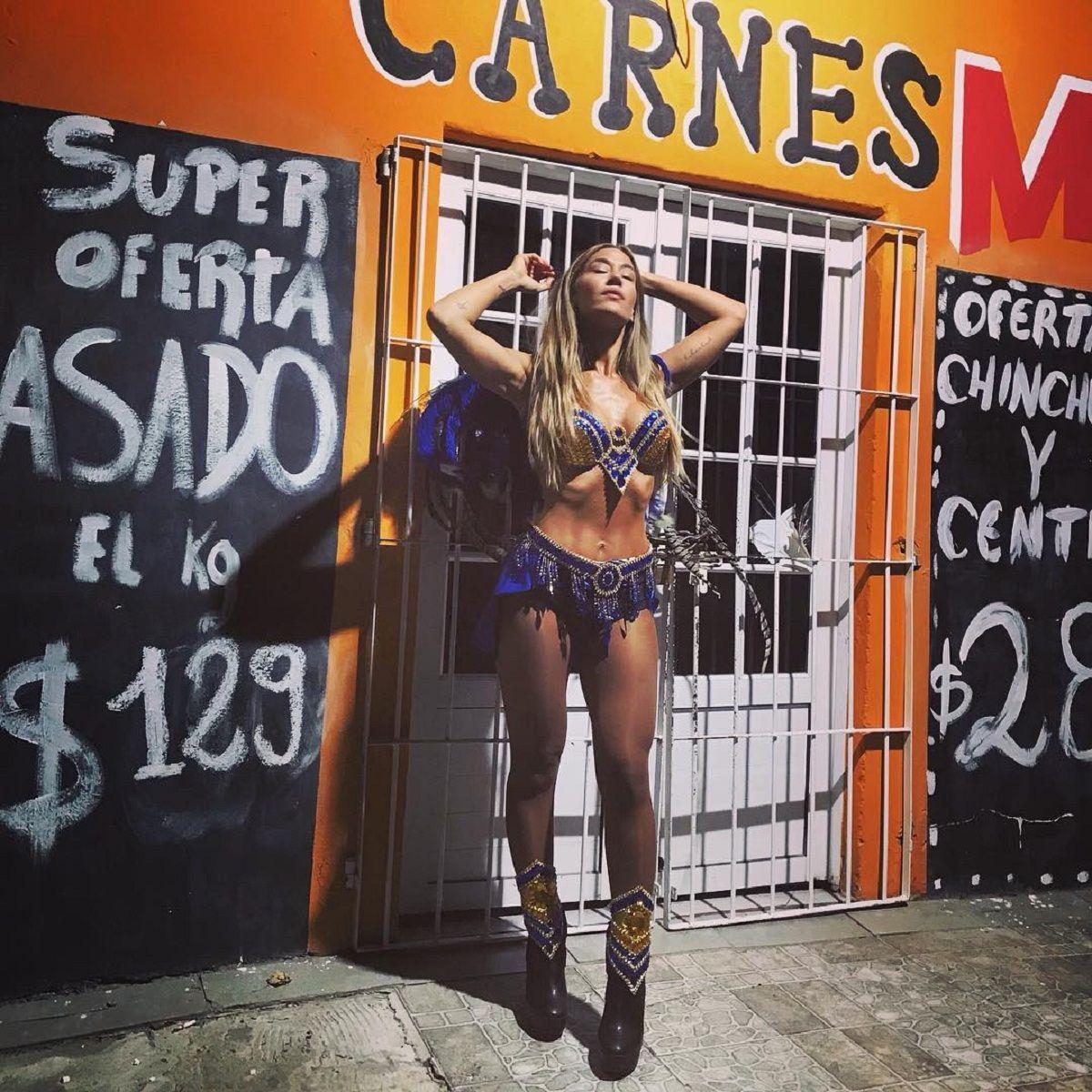 Jimena Barón en Instagram