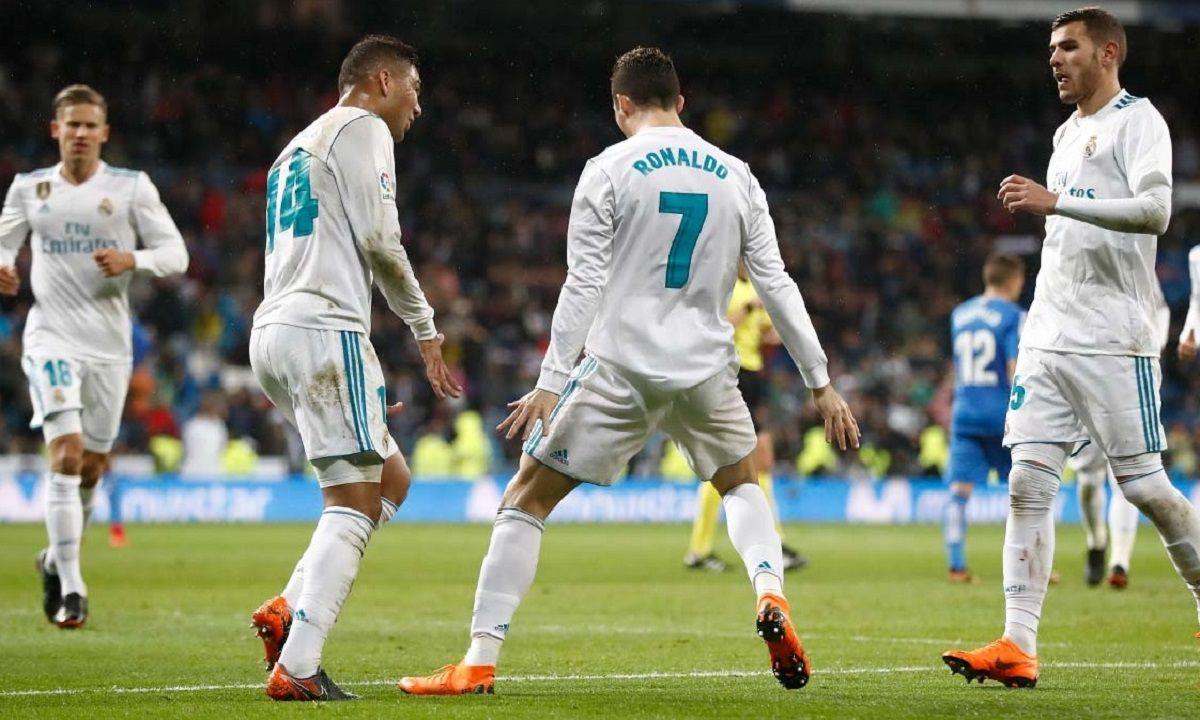 Gol de Cristiano Ronaldo para Real Madrid - Crédito:@realmadrid
