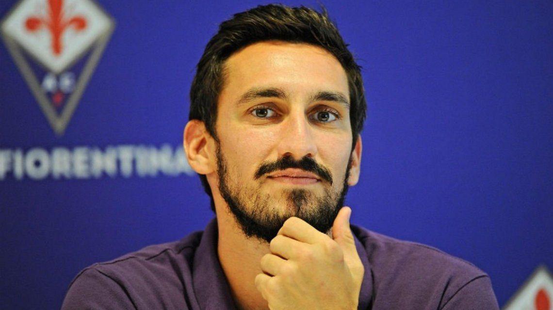 Revuelo por el contrato de Davide Astori, el jugador de la Fiorentina que murió
