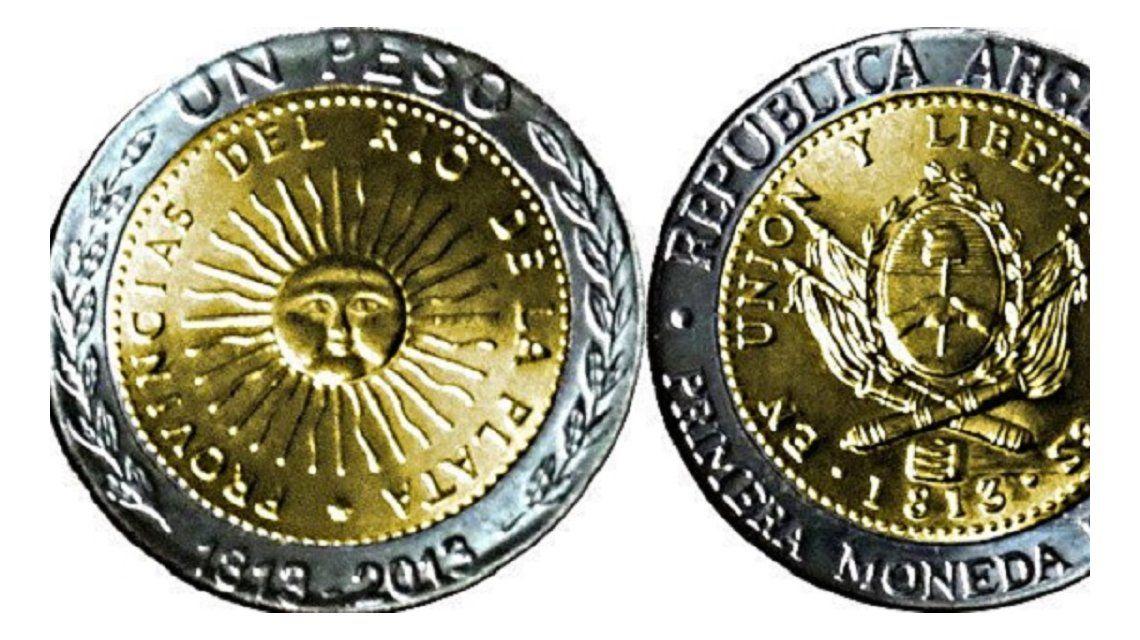 La Guardia Civil española advierte que el peso argentino puede confundirse con la moneda de dos euros