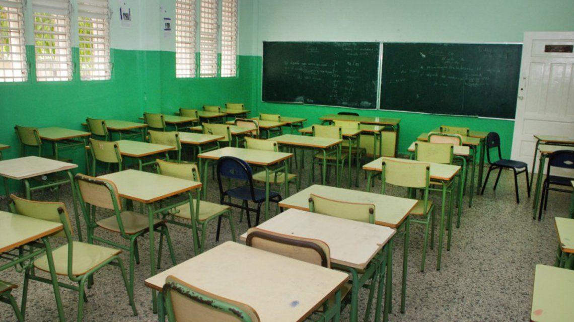 Aulas vacías:el lunes no habrá inicio de clases en varias provincias por el paro docente