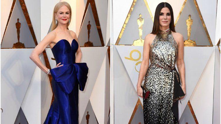 Nicole Kidman y Sandra Bullock