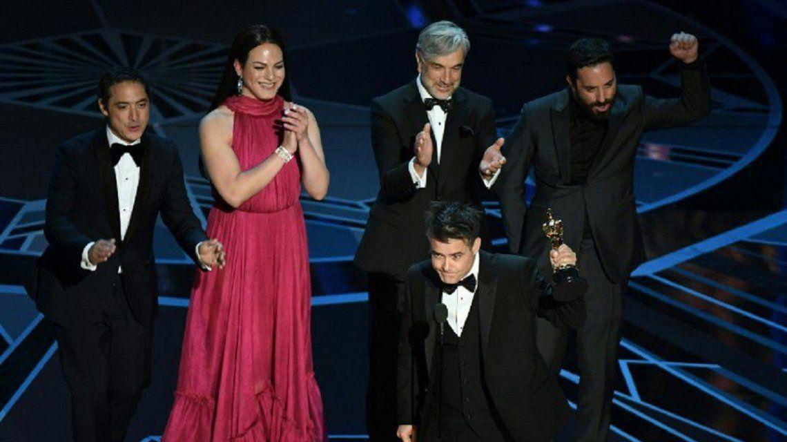 Sebastián Lelio celebra el Oscar para Una Mujer Fantástica