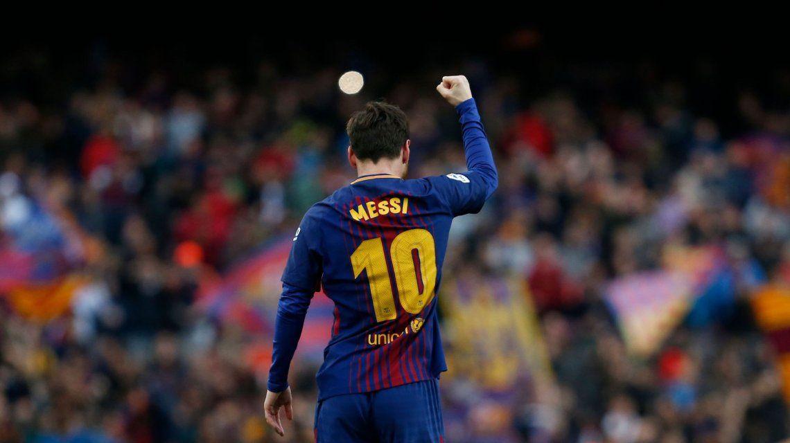 600 gritos de gol de Lionel Messi