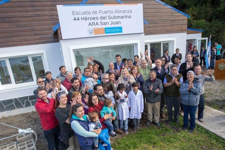 El homenaje más conmovedor a más de tres meses de la desaparición del ARA San Juan y sus 44 héroes