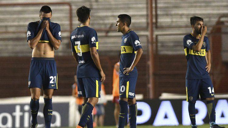 Boca cayó ante Argentinos Juniors y los escoltas acortaron distancias