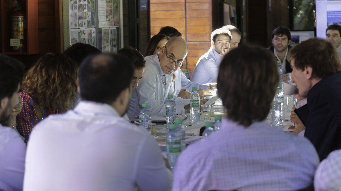 Horacio Rodríguez Larreta con el gabinete porteño