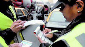 Desde este martes se multará a los coches que circulen por la zona de Tribunales