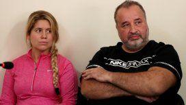 Marcelo Balcedo y su esposa