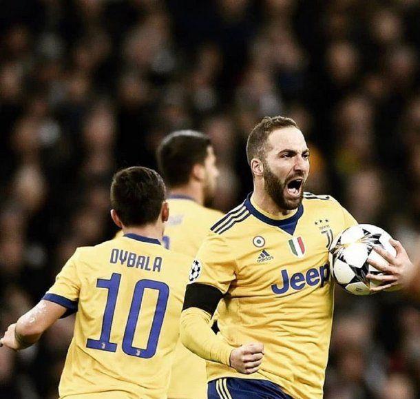 Gonzalo Higuaín y Paulo Dybala fueron claves para la Juve - Crédito: @juventusfc<br>