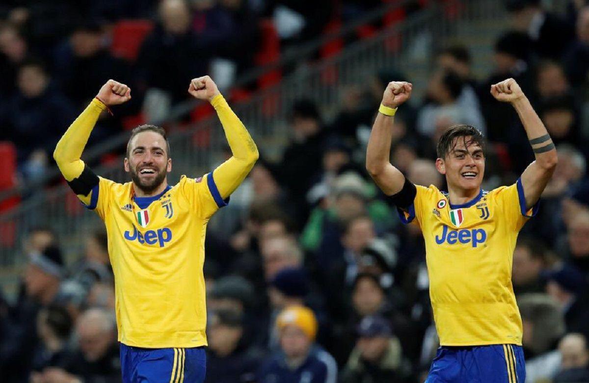 Gonzalo Higuaín y Paulo Dybala Crédito: @juventusfc