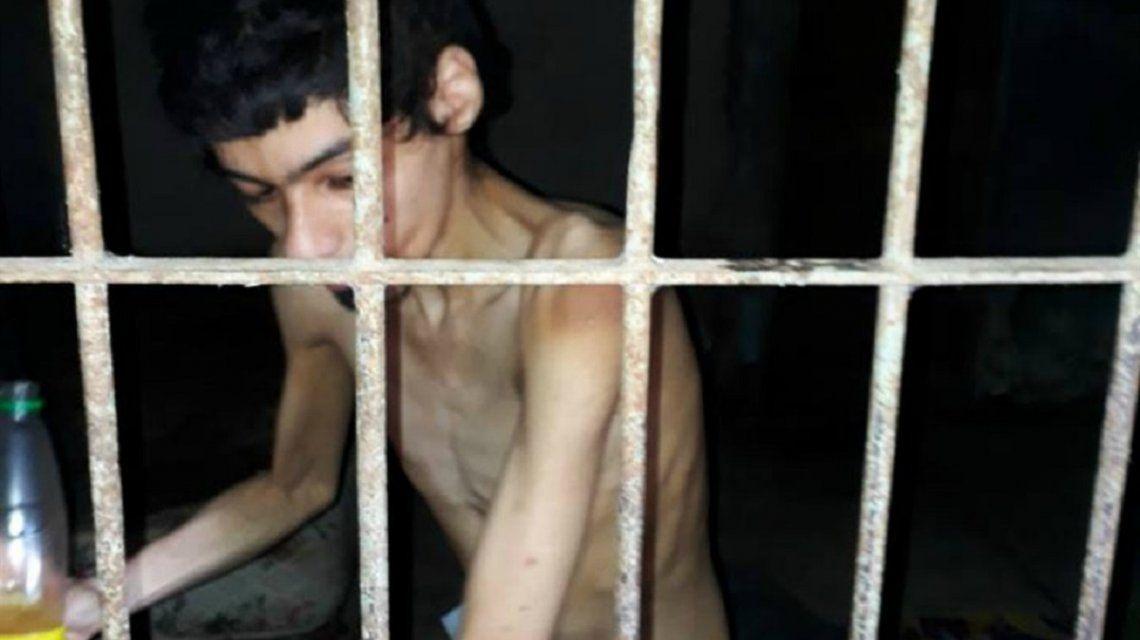 Horror en Corrientes: un joven discapacitado vive encerrado y sin comida