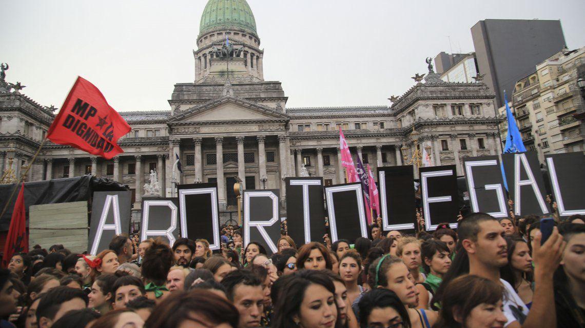 Marcha por el aborto