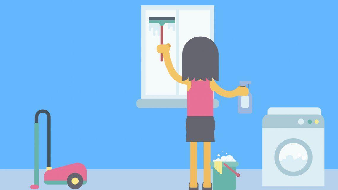 Cuidado de los hijos, limpiar y ocuparse de la casa: la brecha de género en el hogar