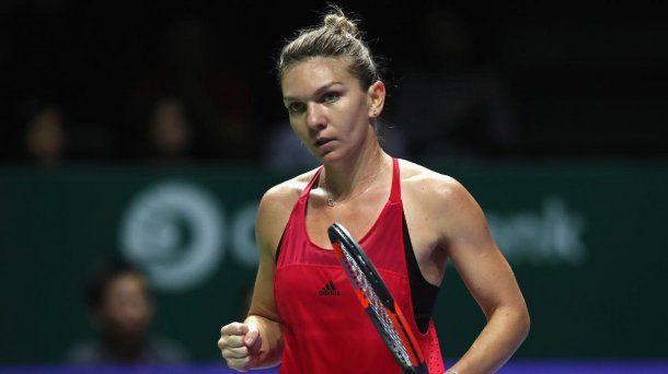 Simona Halep acumuló premios por 5.270.000 dólares en 2017.