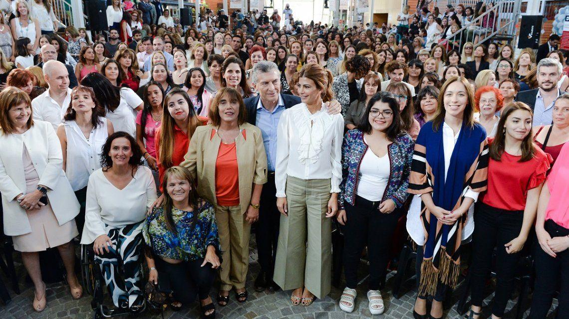 En el acto por el Día de la Mujer