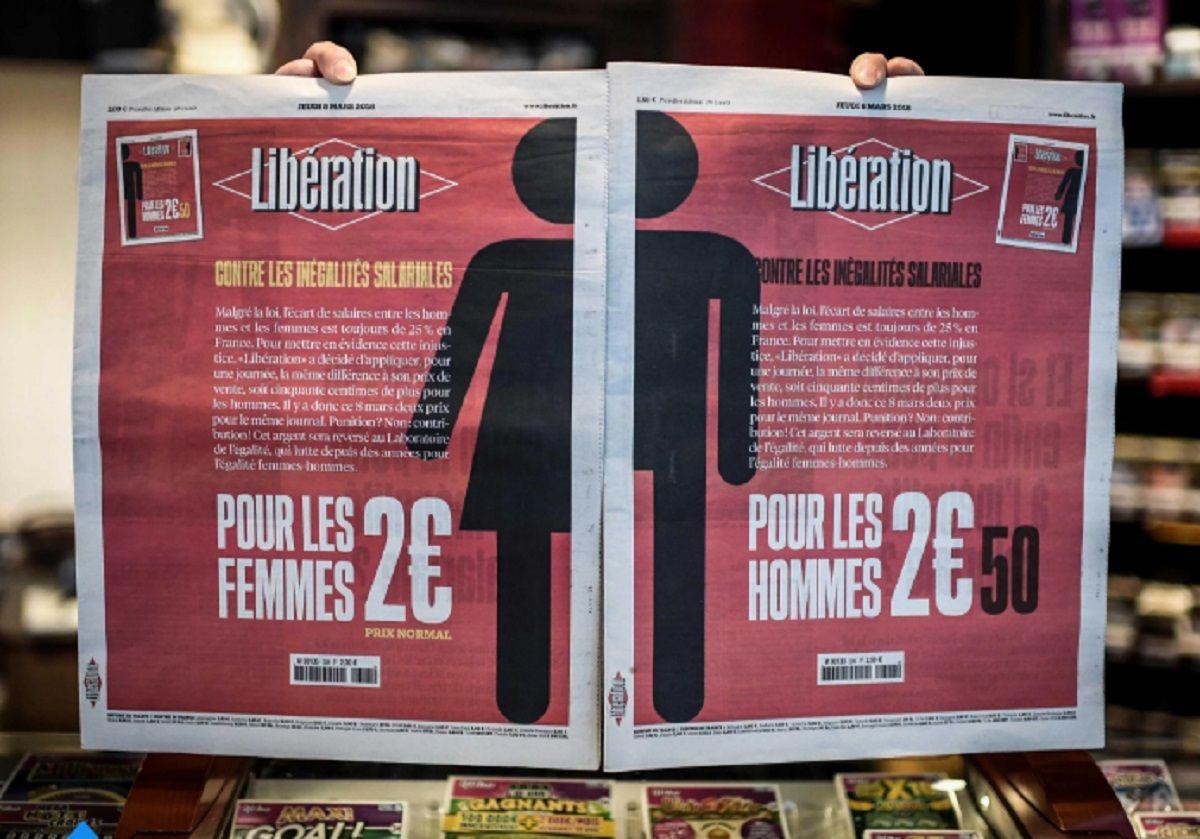 Francia: un diario sale más caro para los hombres para denunciar la brecha salarial