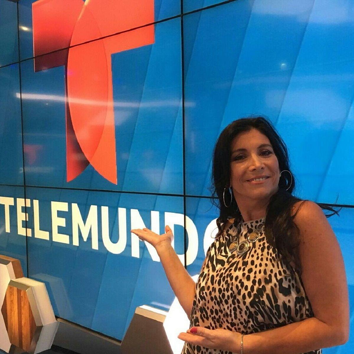 Viviana Vila en Telemundo