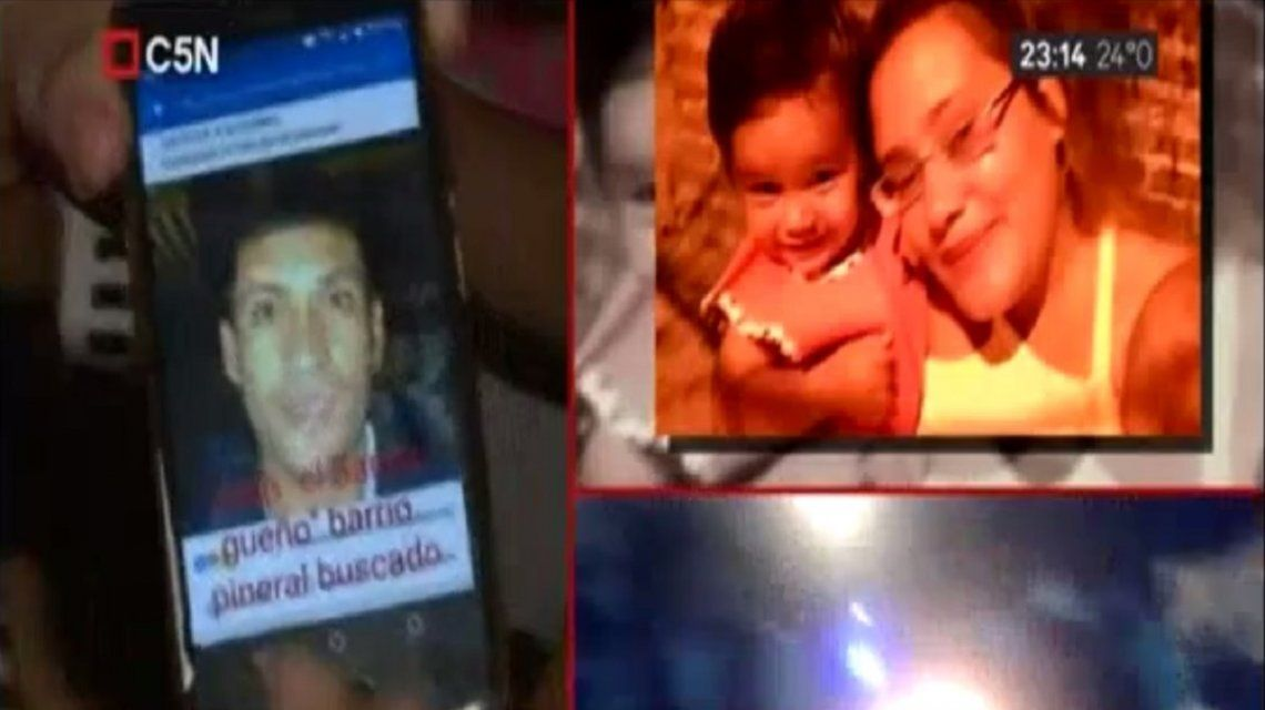 Los familiares de Aldana protestaron