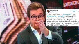 Ratifico todo lo que dije: la palabra de Nicolás Massot tras el papelón en una entrevista