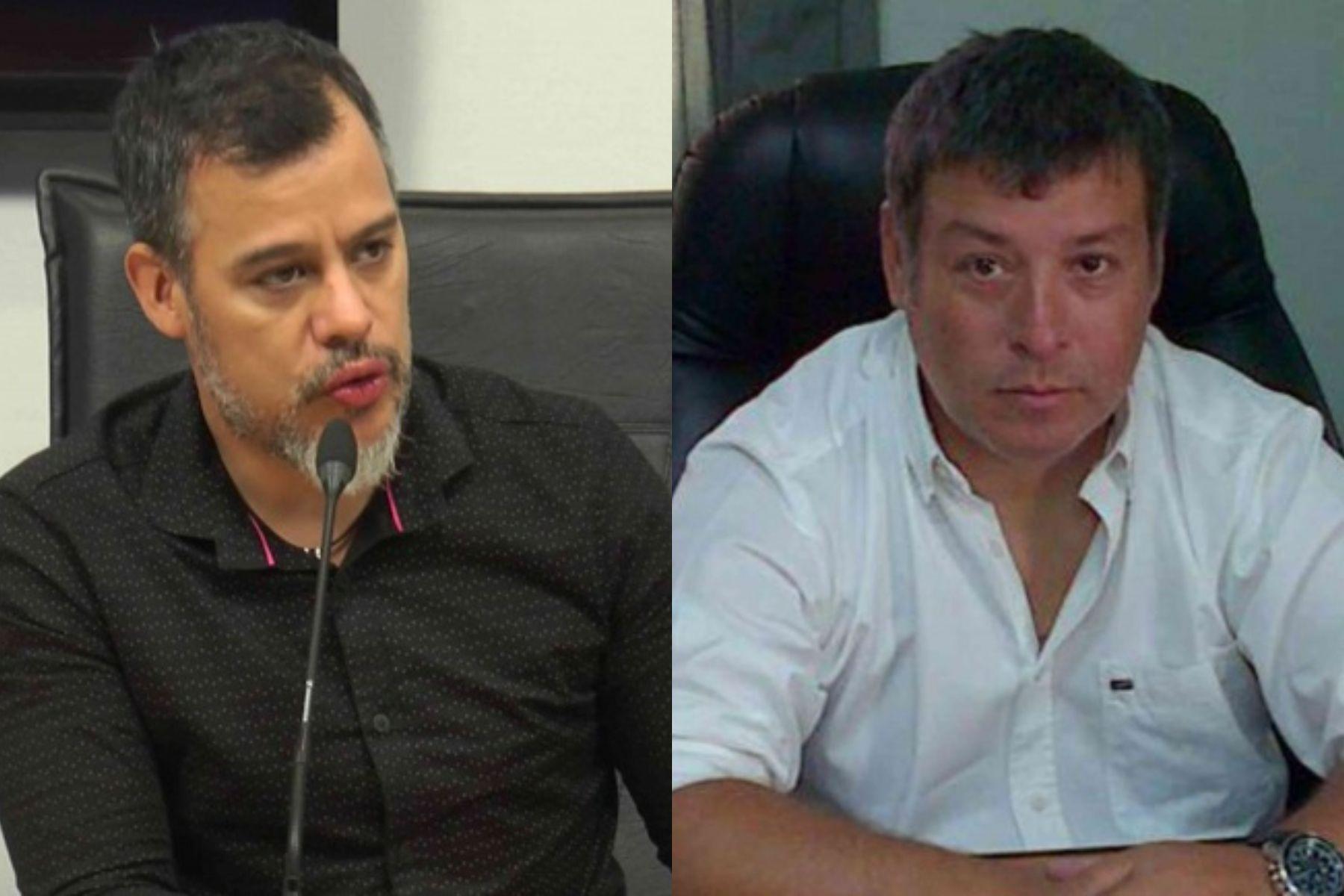 Horacio Rey y Roberto fueron separados de sus cargos.